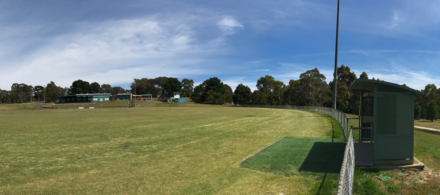 Oval at 100 Acres Reserve
