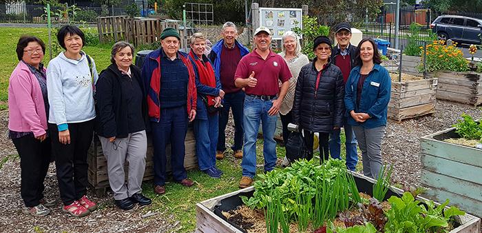 Vasili's Community Garden Group Session Photo