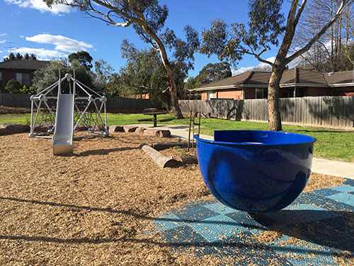 photo of westwood reserve new playground during the day
