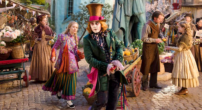 promotional image of Alice through the looking glass