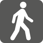 Walking Trails Icon