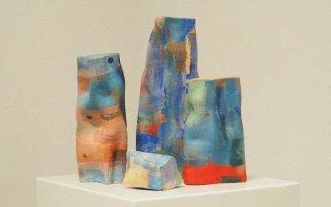 """Magdalena Dmowska's ceramic piece """"Still Life"""""""