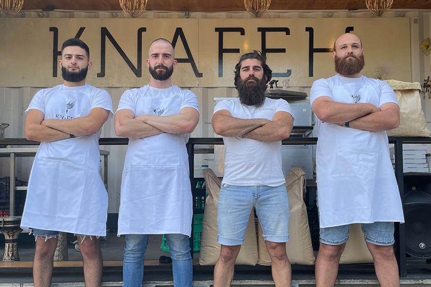 The bearded bakers