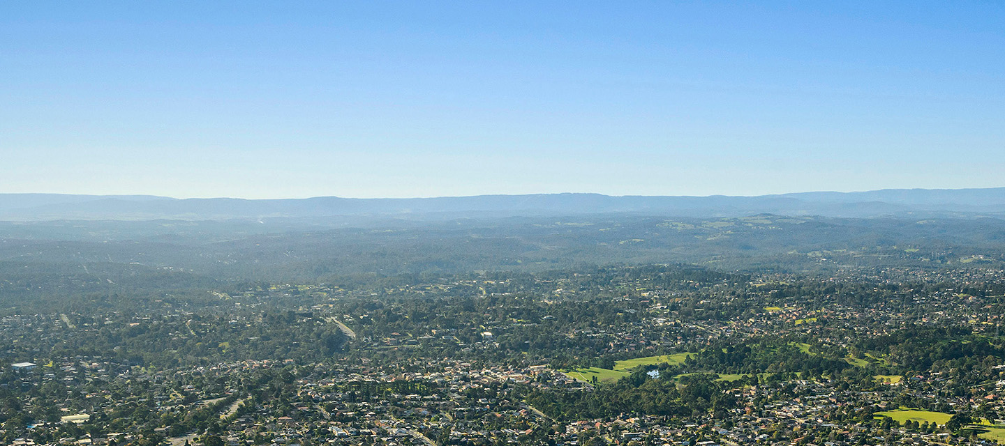 Photo of Manningham from drone