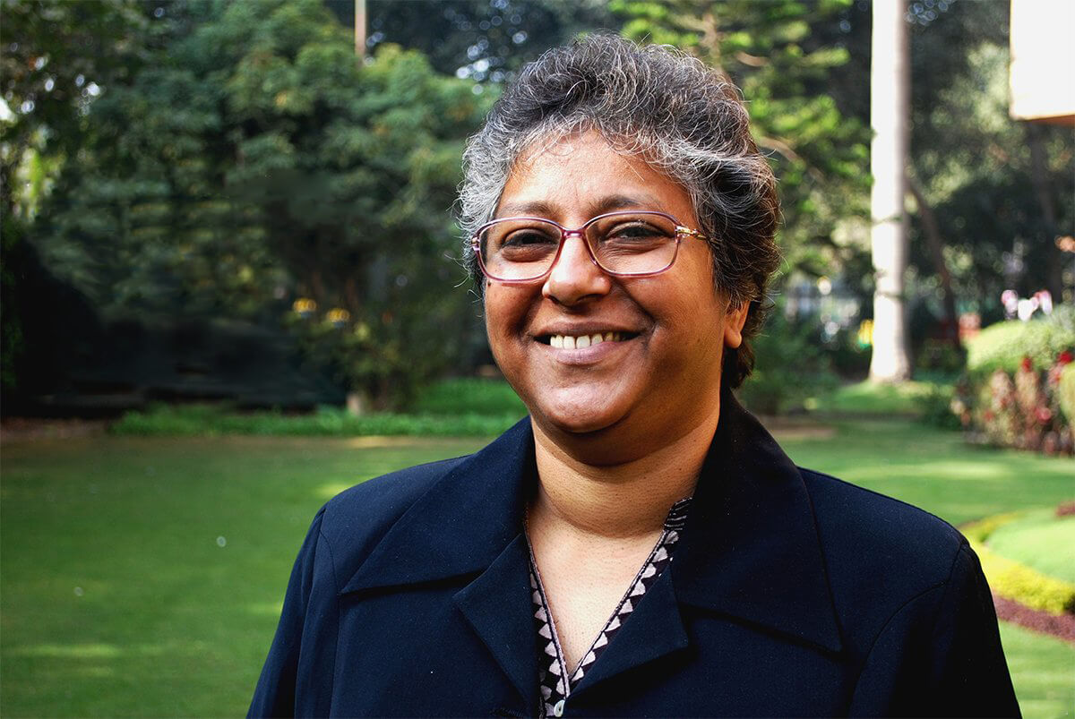 Portrait photo of Mary Verghese of The Leprosy Mission India
