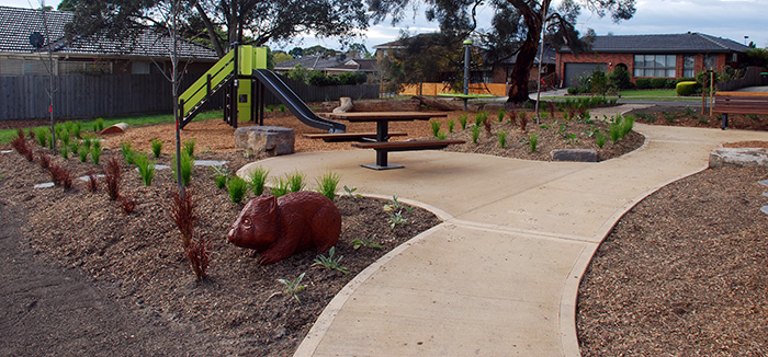 New Playground At Noral Reserve