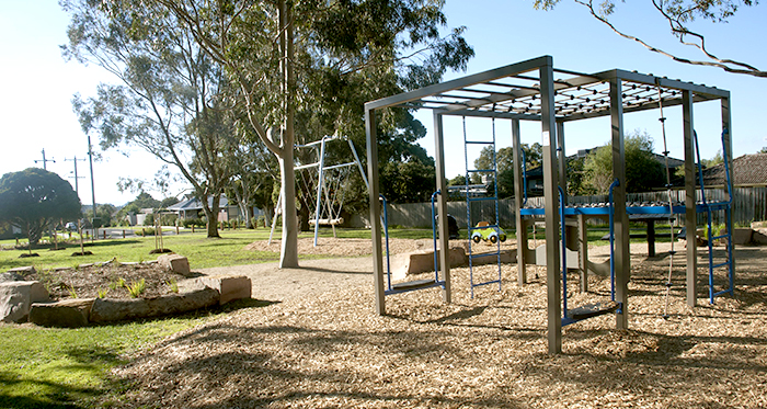 Photo of Schramms Reserve North Playground Monkey bars and swings