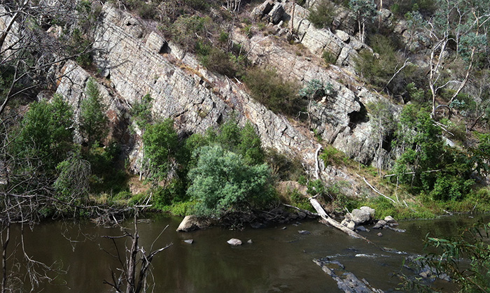 View of Yarra River and bushland