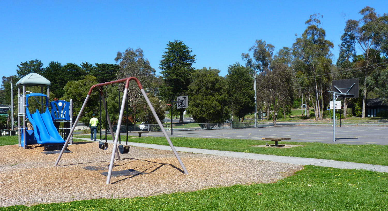 Playground at Warrandyte Reserve