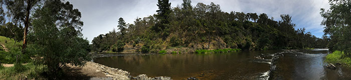 Warrandyte River Reserve Panorama