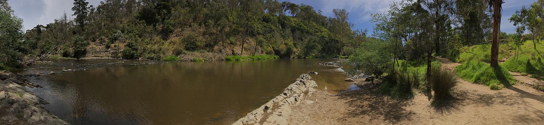 Yarra River at Warrandyte River Reserve